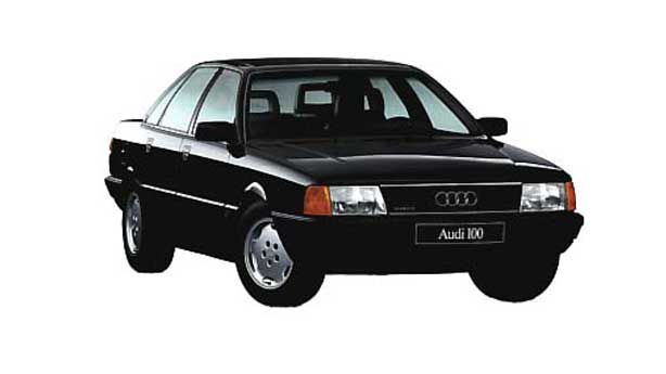 Покраска автомобиля Audi 100