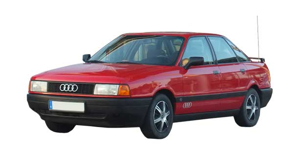 Покраска автомобиля Audi 80
