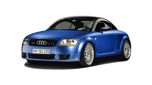 Покраска автомобиля Audi TT