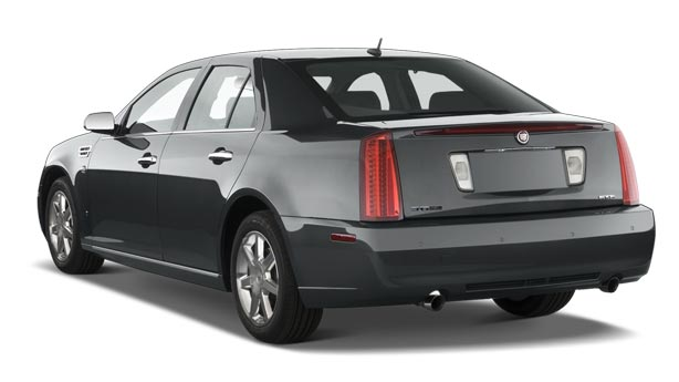 Покраска автомобиля Cadillac STS