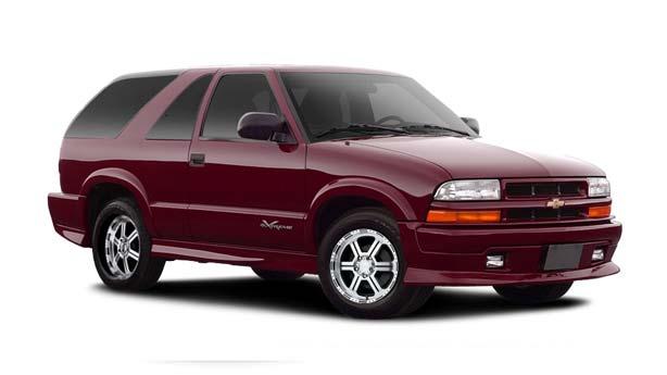 Покраска автомобиля Chevrolet Blazer