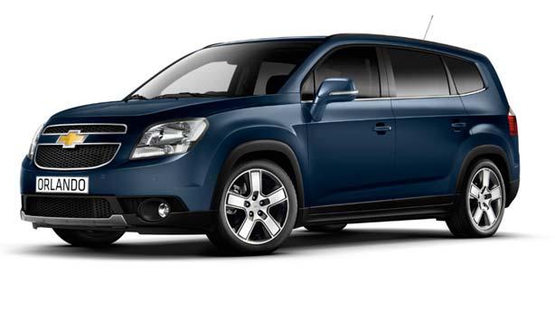 Удаление вмятин, сколов, царапин Chevrolet Orlando