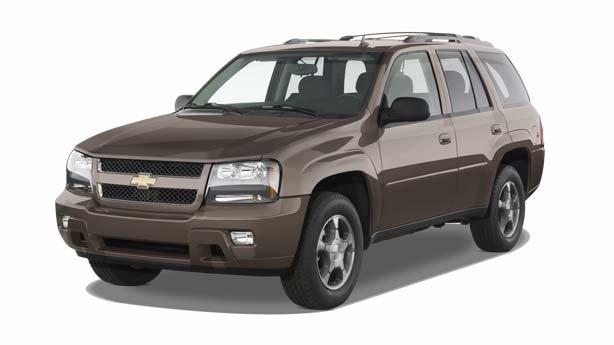 Покраска автомобиля Chevrolet TrailBlazer