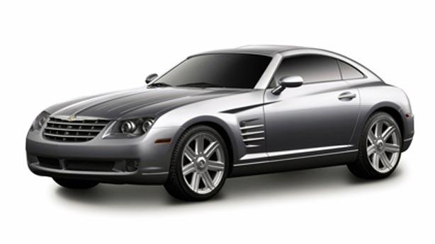 Покраска автомобиля Chrysler Crossfire