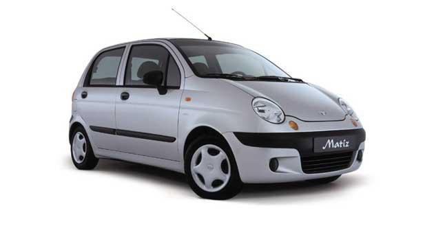 Покраска автомобиля Daewoo Matiz