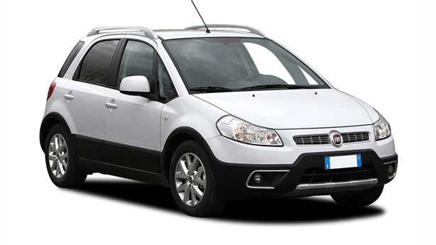 Кузовной ремонт Fiat Sedici