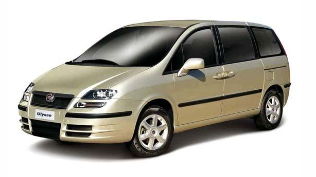 Кузовной ремонт Fiat Ulysse