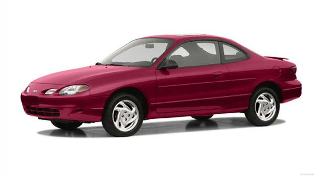 Удаление вмятин, сколов, царапин Ford Escort