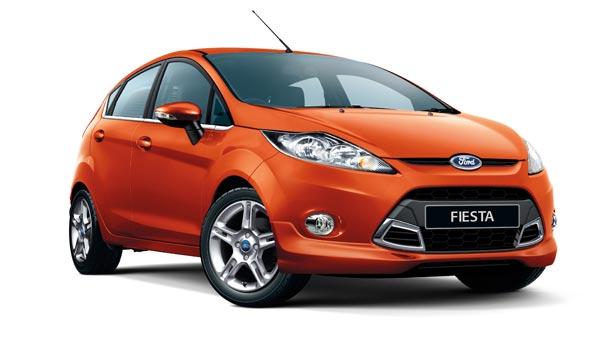 Покраска автомобиля Ford Fiesta