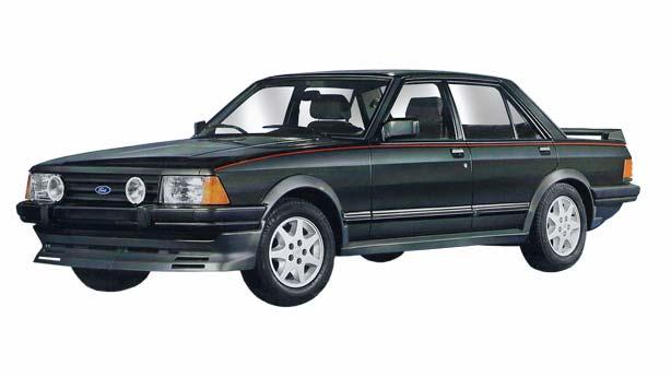 Кузовной ремонт Ford Granada