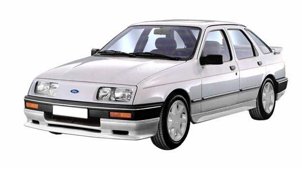 Покраска автомобиля Ford Sierra