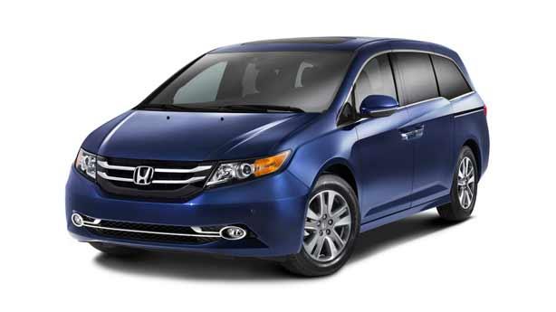 Покраска автомобиля Honda Odyssey