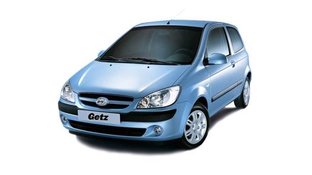 Удаление вмятин, сколов, царапин Hyundai Getz