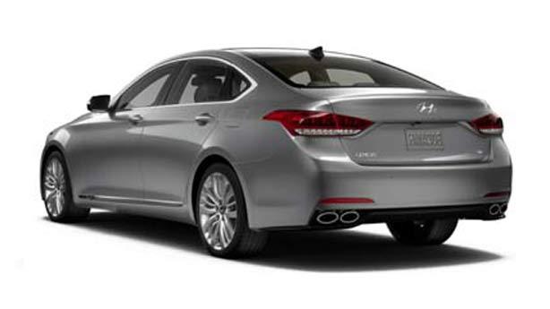 Удаление вмятин, сколов, царапин Hyundai Genesis