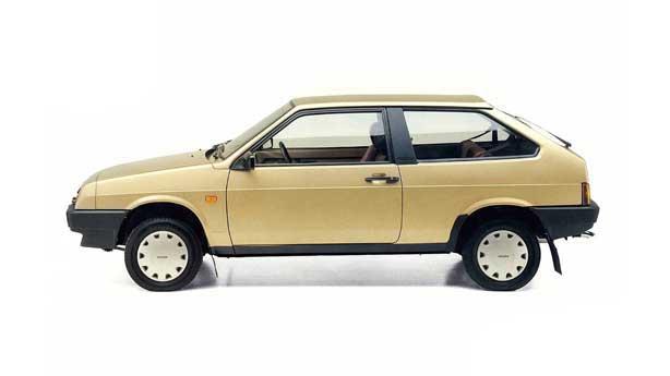 Покраска автомобиля LADA 2108