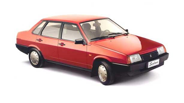 Покраска автомобиля LADA 21099