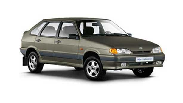 Покраска автомобиля LADA 2114