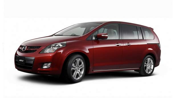 Покраска автомобиля Mazda MPV