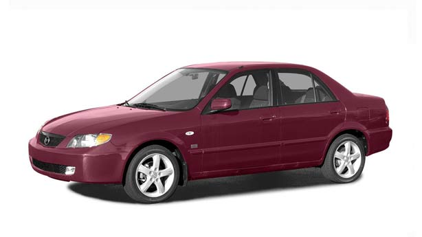 Удаление вмятин, сколов, царапин Mazda Protege