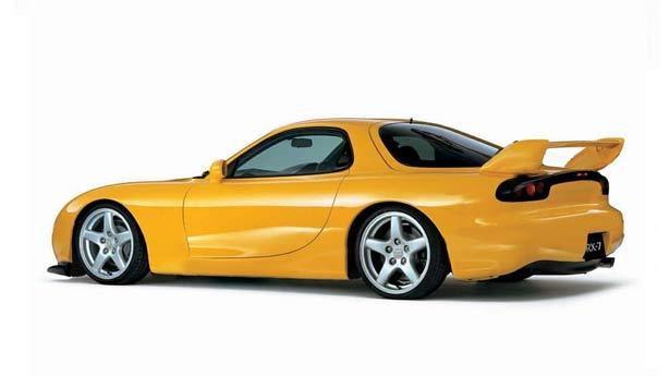 Покраска автомобиля Mazda RX-7
