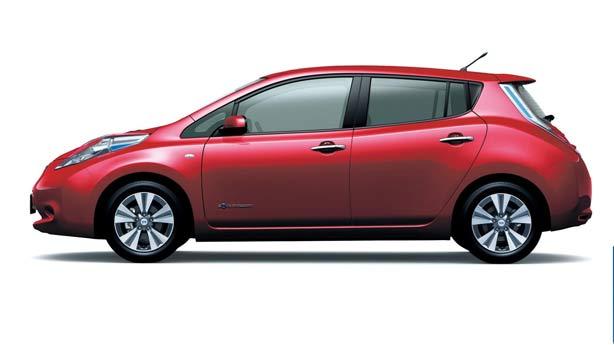 Удаление вмятин, сколов, царапин Nissan Leaf