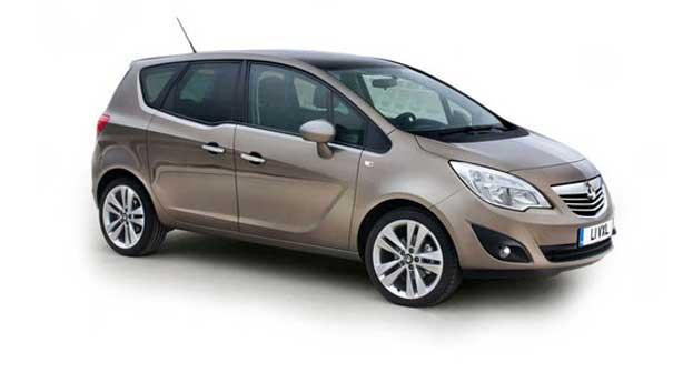 Удаление вмятин, сколов, царапин Opel Meriva