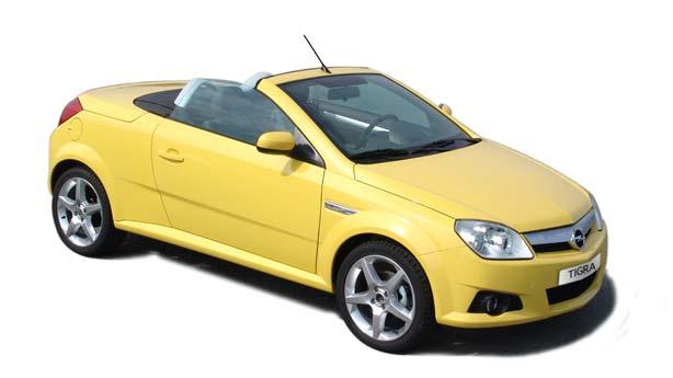 Покраска автомобиля Opel Tigra