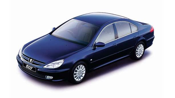 Кузовной ремонт Peugeot 607
