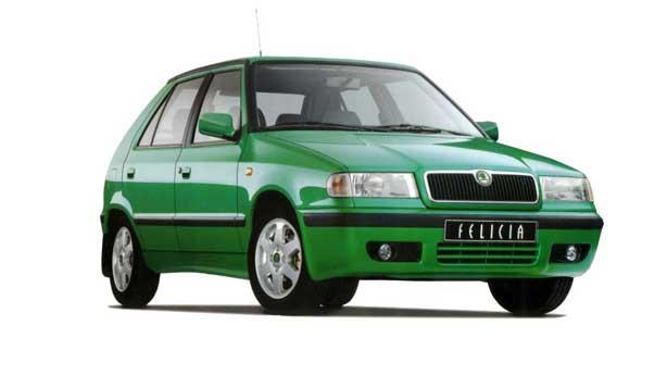 Покраска автомобиля Skoda Felicia