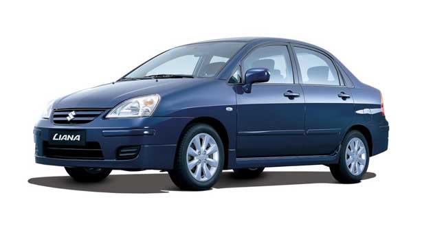 Кузовной ремонт Suzuki Liana