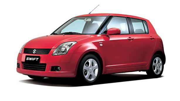 Удаление вмятин, сколов, царапин Suzuki Swift