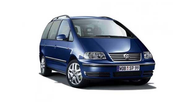 Покраска автомобиля Volkswagen Sharan