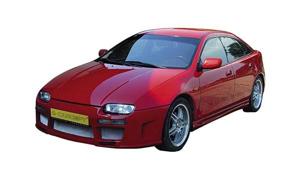Покраска автомобиля Мазда 323