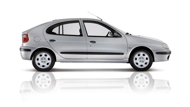 Удаление вмятин, сколов, царапин Renault Megane I